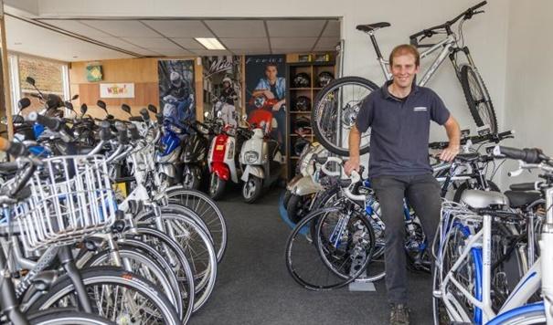 "Gerben Kroes: ""Van lokale fietswinkel tot webshop, Bovemij beweegt mee"""