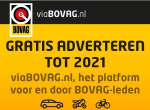 Tot 2021 gratis adverteren op viaBOVAG.nl